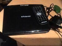 Polaroid portable DVD player