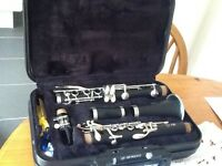 Clarinet Yamaha 250. Excellent condition plus 3 music books £130