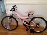 """Bicycle 24"""" wheel frame Apollo Kinx brand and 20"""" wheel frame Apollo Spektor"""