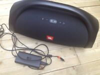 JBL Boombox Waterproof Portable Bluetooth Speaker - only used once, real bargain