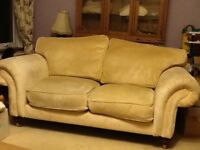 2 X 2 seater sofas and matching armchair also double bed