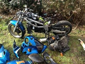 1999 suzuki sv 650 breaking for parts >>>