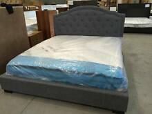 Fabric Queen Beds - Warehouse Clearance 28th & 29th Nov Aspley Brisbane North East Preview