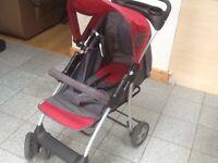 Hauck brand buggy/stroller in full working order