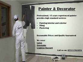 PAINTER & DECORATOR (Luton and surrounding areas)