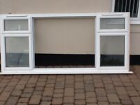 Double glazed aluminium white window good