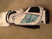 Brand new women's golf cart bag never been used light weight