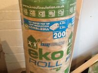 Knauf eco insulation 3 full rolls