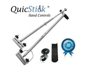 Portable Hand Controls Disabled Driving Lightweight Handicap Car Mobility truck Hand Drive Car