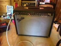 Fender Delux 112 Guitar amp exellant Condition Home use only