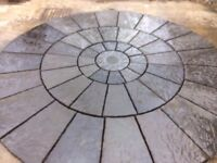 Olde English Paving Circle 3m Brand New Direct From Manufacturer Bespoke Colouring