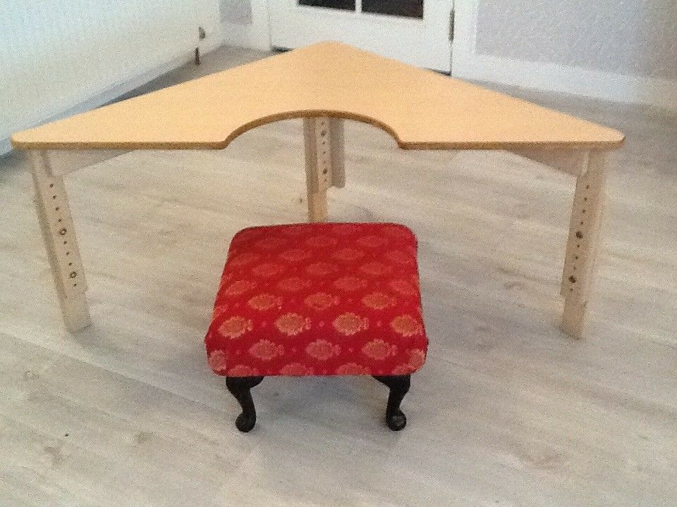 Lovely little Craft Table, adjustable so can grow with the child's height.