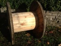 For sale wooden cable drum wood reel
