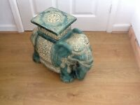 large china elephant plant stand,side table.