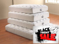 BLACK FRIDAY SALE MEMORY SUPREME MATTRESSES SINGLE DOUBLE AND FREE DELIVERY 942DCE