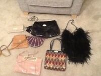 7 RIVER ISLAND BAGS £30 FOR THE LOT