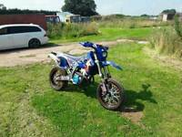 2008 58 Suzuki DRZ400SM (433 Kit) Supermoto Low Miles Graphic Kit Jetted Hot Cams + More