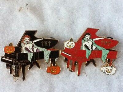 HRC Hollywood TNT Halloween Piano Coffin Vampire Girl 2014 Pin - Halloween Piano