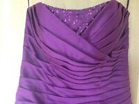 Cadbury Purple Bridesmaid Dresses