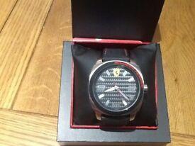 Ferrari Scuderia Carbon Watch