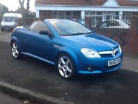 2006 Vauxhall Tigra 1.4 exclusive convertible long mot heated leather seats BARGAIN!!!!