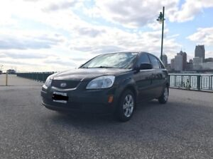 SAFETIED AND E-TESTED 2008 Kia Rio5 hatchback 5-speed manual