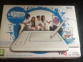 U draw game tablet for the wifi as new boxed