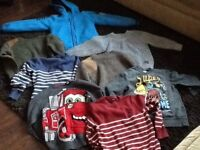 Bundle of boy's winter jumpers (size 6/7)