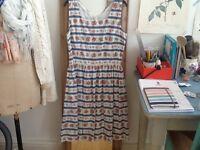 Beautiful Cath Kidston sleeveless summer dress size 10