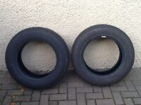 2x225/65R17 TYRES.SUITABLE FOR 4x4/SUV.NEARLY NEW