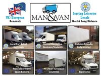 Man and Van House Removals Local, National, Europe, International Moves Service 11 Years Experience