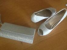Ladies formal shoes size 9 and matching clutch bag Brookfield Brisbane North West Preview