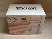 SEWLAND OVERLOCK MACHINE BRAND NEW IN BOX