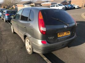 NISSAN ALMERA TINO,OCTOBER TEST,ONE FORMER LADY OWNER