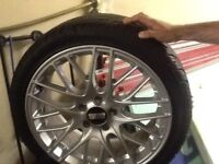 genuine Bbs alloys and brand new tyres 18 inch alloy tyres alone cost £800