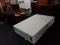 Small 4ft Double divan bed Drawers Headboard Low Cost Moves 2nd Hand F