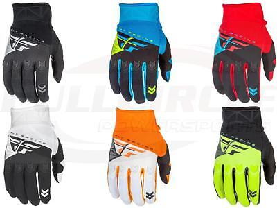 Mx Riding Gloves - Fly Racing F-16 Riding Gloves Adult & Youth Motocross MX/ATV/BMX/MTB Off-Road 18