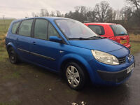 S.E.V.E.N. SEATER SENIC , 4 MONTH M,O,T, DRIVE'S SUPERB 130K MILE'S £599 TO CLEAR ,