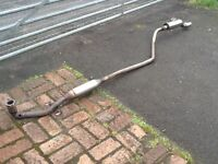 Hyundai I 10 2009 stainless steel sports exhaust