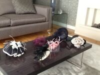 Selling selection of six hats and fascinators.