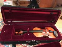 Beautiful Chinese Full Size Violin, bought from Simon Dubber of Witney, Oxfordshire