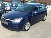 2005/05 VAUXHALL ASTRA 1.8i 16V CLUB 5 DOOR,SERVICE HISTORY,LOW MILEAGE,GREAT CONDITION,DRIVES WELL