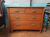 Georgian style vintage drawers