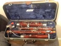 Huller Bassoon for sale. Very rare