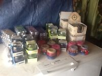 Job lot of scented candles