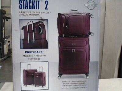 Samsonite Stackit 2 Carry On Spinner Suitcase