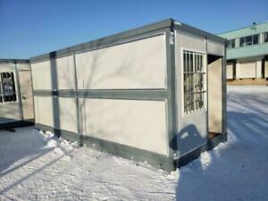NEW 20 FT FOLDING INSULATED OFFICE CONTAINER 20FOC Regina Regina Area Preview