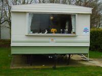 static 6 berth caravan for sale