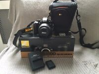 Nikon D3100 SLR with another 2 years insurance cover