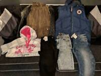 Selection of clothes bundles.n shoes size small 8/10
